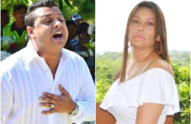 Rafael Santos y Consuelo Martínez.