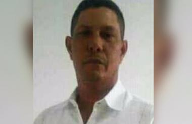 La víctima fue identificada como Edward Montes Díaz, de 48 años.