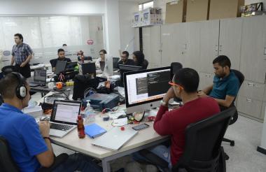 Sede de Macondolab, una de las organizaciones y aceleradora de emprendimientos en Barranquilla.