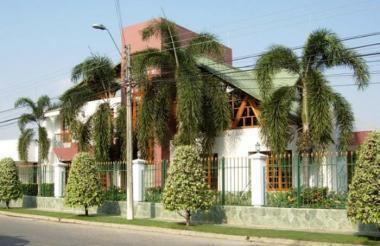 Casa de Salvatore Mancuso ubicada en el barrio La Castellana,en el norte de Montería.