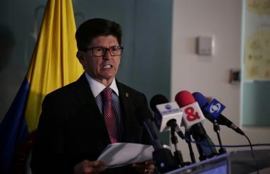 Carlos Iván Márquez, director de la Unidad Nacional para la Gestión del Riesgo de Desastres (UNGRD).