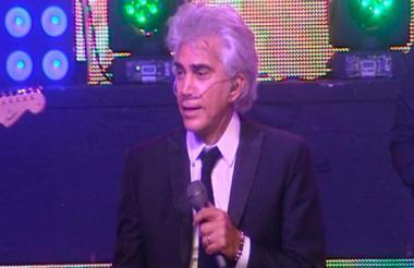 """El cantante venezolano José Luis Rodríguez """"El Puma""""."""