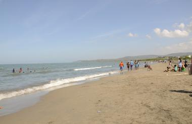 Playas en Tubará.
