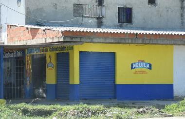 En este sitio de Manuela Beltrán se registró la balacera que dejó un muerto.