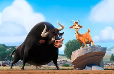 Imagen de la película, 'Olé, el viaje de Ferdinand'.