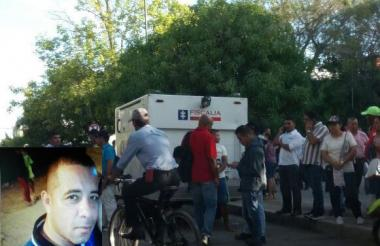 Daniel José Villadiego Bautista de 35 años.