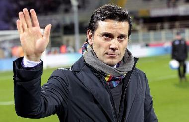Vincenzo Montella viene de dirigir al AC Milan