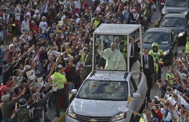 Visita del papa Francisco al país.