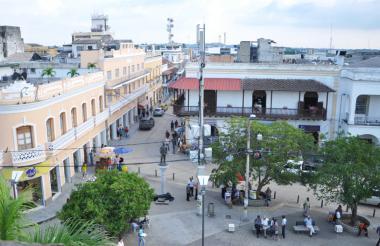 En el centro de la capital de Sucre se han remodelado varias de sus vías.