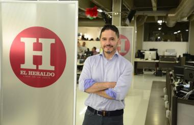 El gerente de Apps.co, Carlos Rozo.