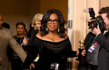Oprah Winfrey fue homenajeada por su carrera.