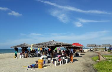 Playa Jitmasu en Mayapo, Manaure, La Guajira.