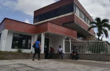 Fachada de la clínica Bautista de Barranquilla.