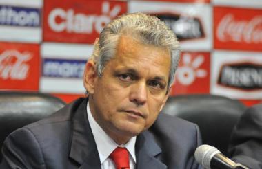 Reinaldo Rueda, director técnico colombiano.