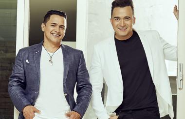 Jorge Celedón y Sergio Luis Rodríguez.