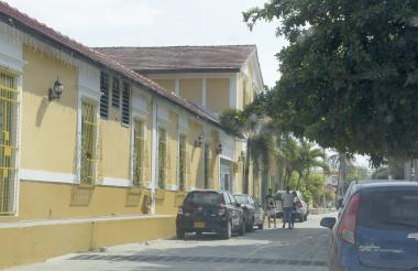 Aspecto de un sector tradicional del Barrio Abajo.