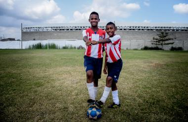 Ronaldo Tapias y Cristian Peñate.