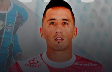 El jugador Lucas Barrios.