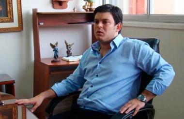 El exgobernador de Córdoba Alejandro Lyons Muskus.