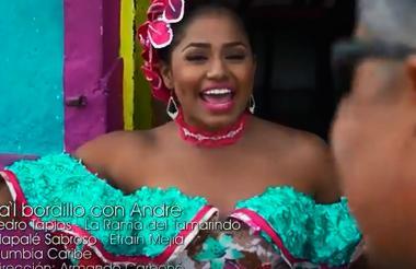 Andrea de Alba, reina del Carnaval de la 44.