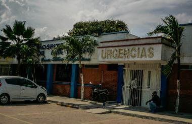 Fachada del Hospital de Malambo.