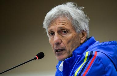 José Néstor Pékerman, director técnico de la Selección Colombia.