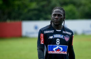 Yimmi Chará jugará hoy contra Real Cartagena.