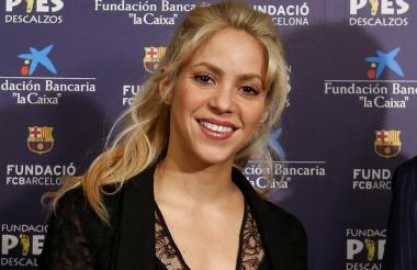Shakira Mebarak Ripoll.