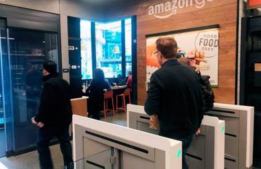 El cliente tendrá la sensación de ingresar a una estación del metro, dicen los expertos de Amazon.