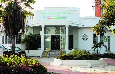 Oficina de Gestión Catastral del Distrito de Barranquilla.