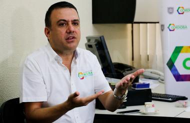 El suspendido gobernador de Córdoba, Edwin Besaile.