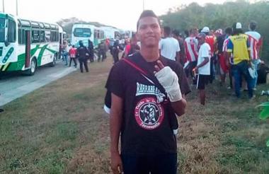 Aldair Lozano, de 22 años.