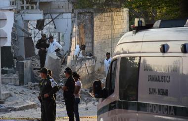 CAI de Soledad 2000 en el área metropolitana de Barranquilla, donde ocurrió el segundo atentado.
