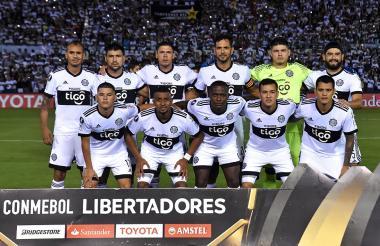Estos son los 11 jugadores del club Olimpia de Paraguay en la Libertadores.