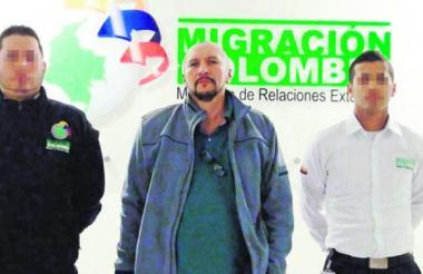 Miguel Ángel Villarreal Archila, alias Salomón, exparamilitar del Bloque Norte de las AUC.