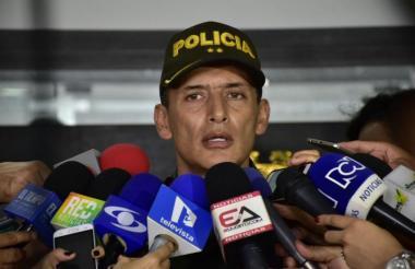 Mariano Botero Coy, Comandante del área metropolitana de la Policía.