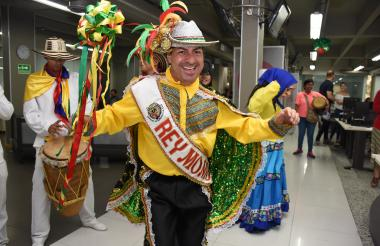 Ricardo Sierra, Rey Momo del Carnaval de Barranquilla