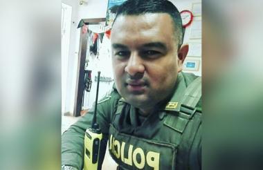 Anderson René Cano Arteta, uno de los cinco policías muertos en el atentado del Eln a la estacíón San José