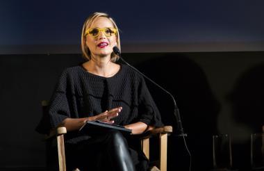 Lina Rodríguez, directora general del Festival de Cine de Cartagena.