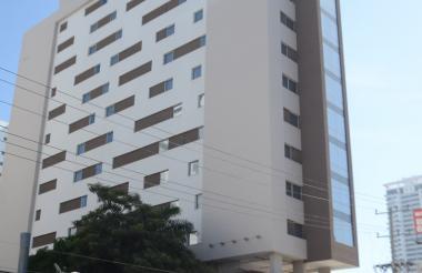 Holiday Inn Express, uno de los hoteles emblemáticos de Cartagena, ubicado en el sector de Bocagrande.