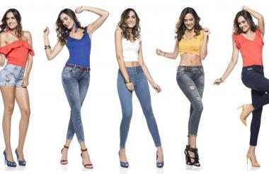 Luzca sus pantalones con blusas de colores vivos, resalte su personalidad, muéstrele al mundo que es una mujer segura.