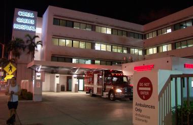 Este es el hospital en el que permanece el cantante mexicano José José en Miami.