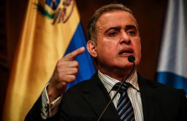 Tarek William Saab, fiscal general de Venezuela.