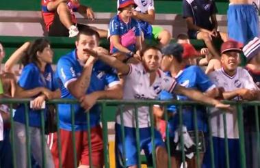 Las burlas de dos aficionados de Nacional haciendo alusión al accidente aéreo del Chapecoense.