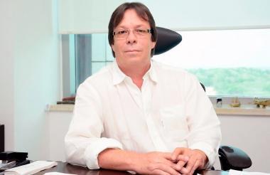 César Lorduy, candidato a la Cámara de Representantes.