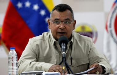 Las declaraciones la hizo el ministro de Interior de Venezuela, Néstor Reverol.