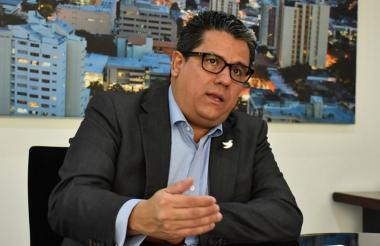 Germán Arce Zapata, ministro de Minas.