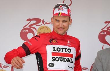 El ciclista belga Tim Wellens.