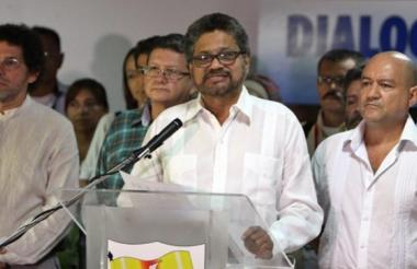 Iván Márquez, cabeza de lista al Senado del partido político de La Farc.