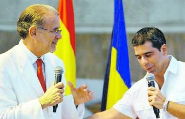 Eduardo Verano y Alejandro Char.